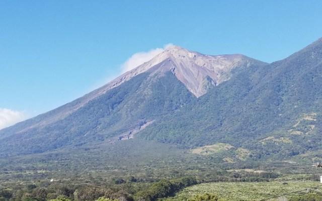 Volcán de fuego inicia nueva fase eruptiva - Foto de Conred