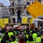 Disminuye presencia de chalecos amarillos en Francia - disminuye numero de chalecos amarillos en protestas en francia