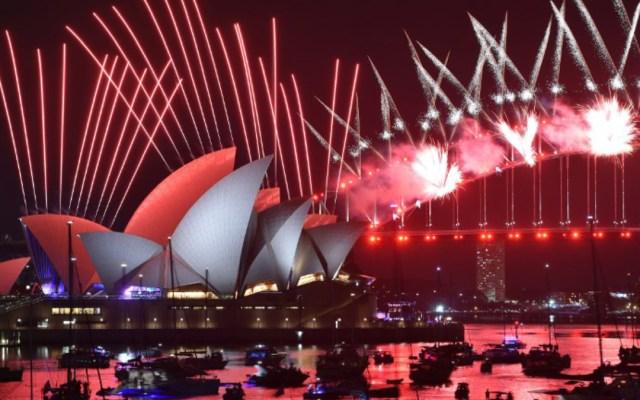 Asia y Oceanía inician festejos por la llegada del 2019 - Festejos por la llegada de 2019 en Sidney