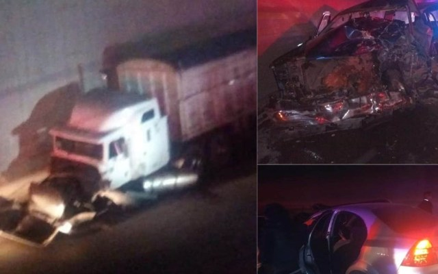Menor muere en accidente vial sobre la Jorobas-Tula - Accidente en la Jorobas-Tula. Foto de @huehuetocasincensura