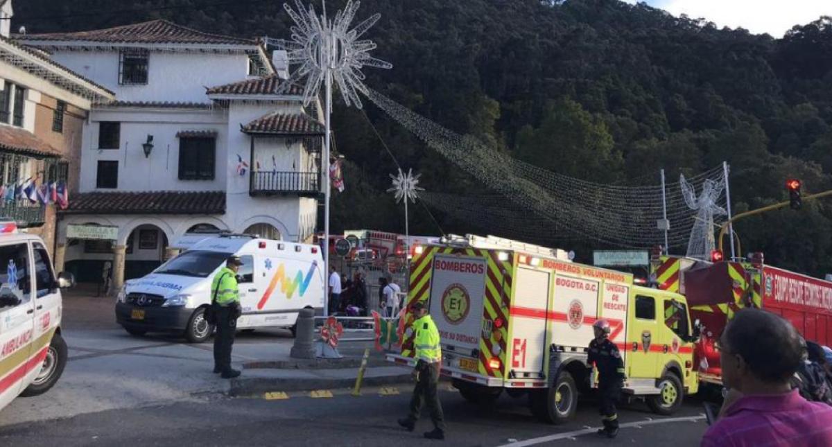 Sigue sin explicación causa de accidente de teleférico en Monserrate