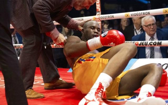 Adonis Stevenson en condición crítica tras perder el cinturón del CMB - Adonis Stevenson en condición crítica tras derrota