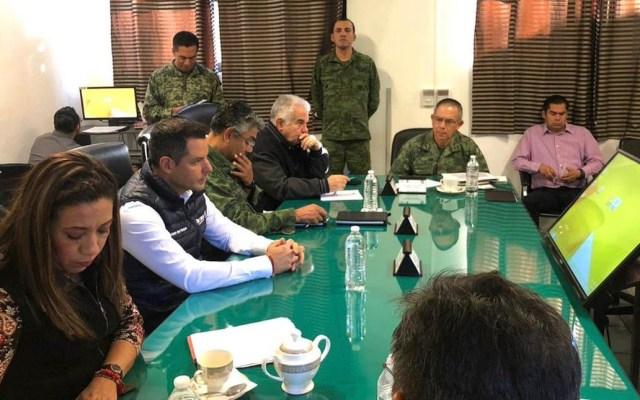 Estados se suscriben a Plan de Seguridad Nacional - Reunión por Plan de Seguridad Nacional en Oaxaca. Foto de @alejandromurat