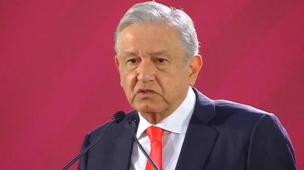 López Obrador busca acuerdo económico y migratorio con Trump - Conferencia de AMLO el 13 de diciembre. Captura de pantalla