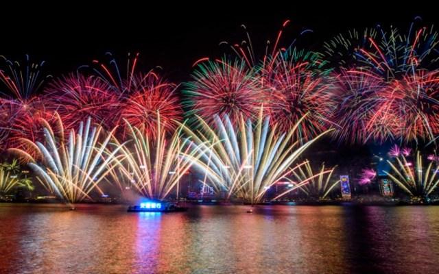 El mundo recibe 2019 con fuegos artificiales - Foto de AFP