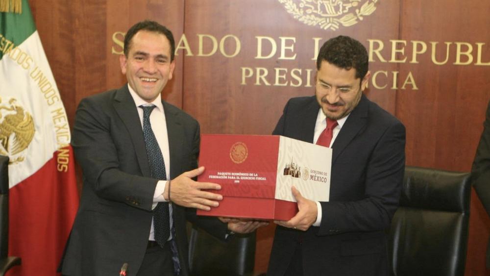 Senado recibe el Paquete Económico 2019 - Foto de @SHCP_mx