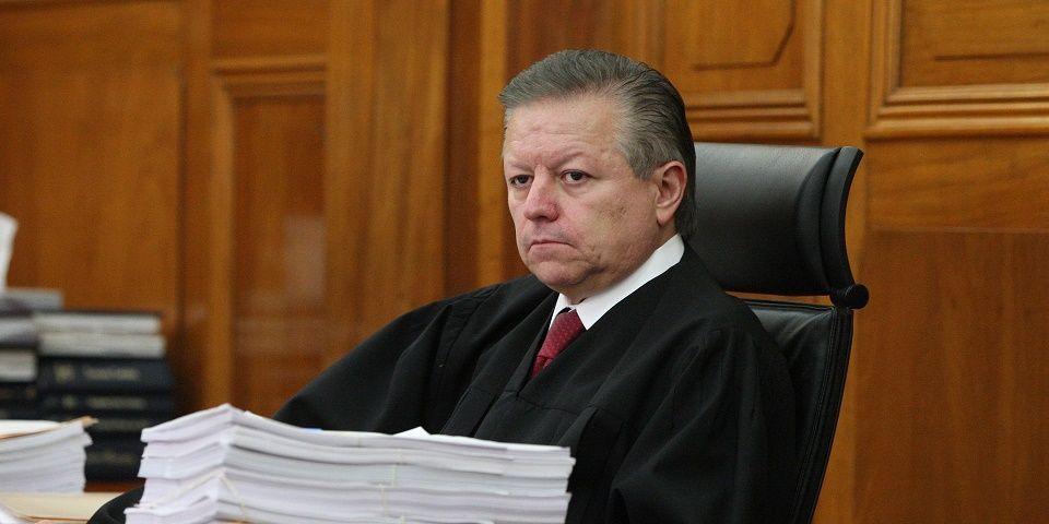 Zaldívar: Defensa de la independencia, principal desafío para el próximo presidente de la SCJN - Arturo Zaldívar. Foto de archivo.
