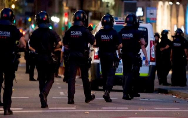 Alerta por posible atentado terrorista en Barcelona - Foto de @Successos_cat
