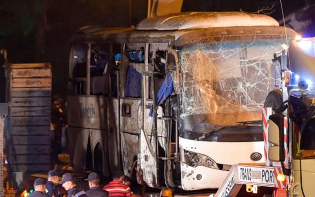 Policía de Egipto mata a 40 terroristas tras atentado contra turistas - Foto de MOHAMED EL-SHAHED / AFP