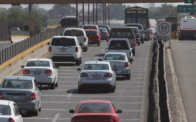 Autopista México-Pachuca la más concurrida este domingo - México-Pachuca