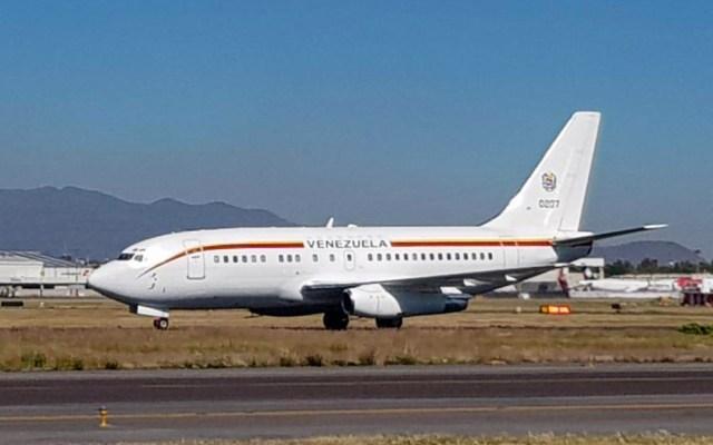 Aterriza avión del presidente Nicolas Maduro