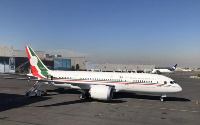 #Video Despega avión presidencial rumbo a EE.UU. para su venta - Despegue del avión presidencial rumbo a EE.UU. para su venta. Foto de Notimex