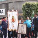 Millones de personas llegan a la Basílica de Guadalupe - Foto de Twitter SSP