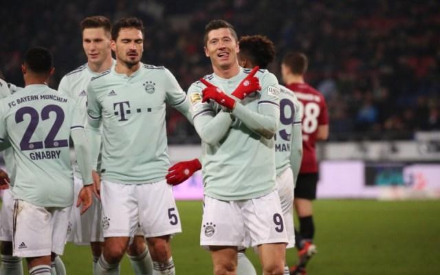 El Bayern Munich golea 4-0 al Hannover - Foto de @FCBayernES