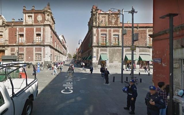 Se registrará solo una movilización en la Ciudad de México - Calle Correo Mayor donde ocurrirá la movilización. Foto de Google Maps