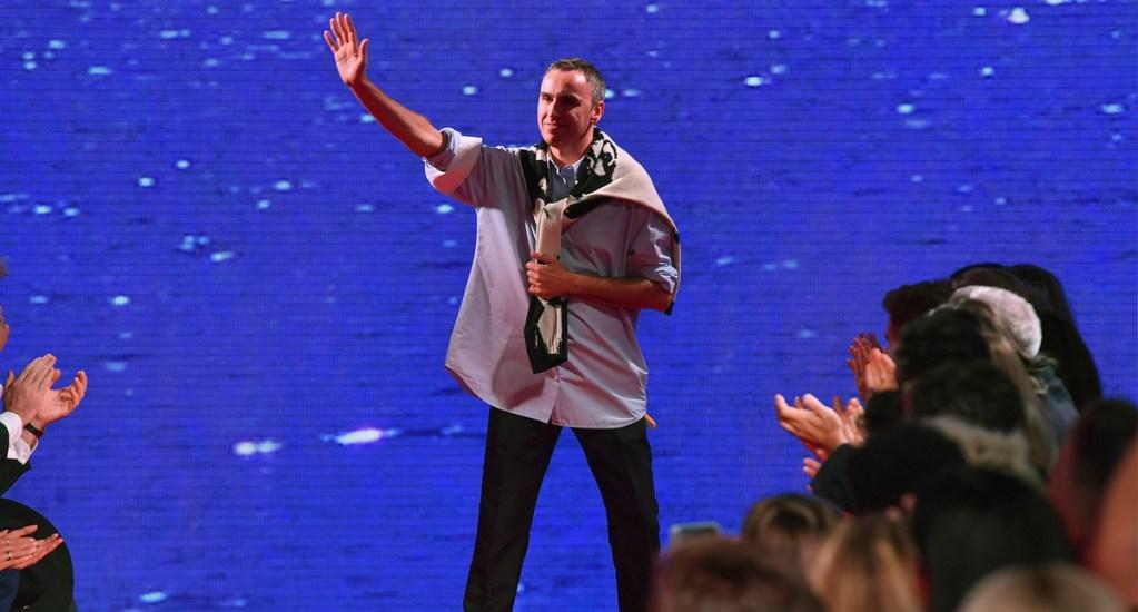 Raf Simons deja la dirección creativa de Calvin Klein - Foto de AFP