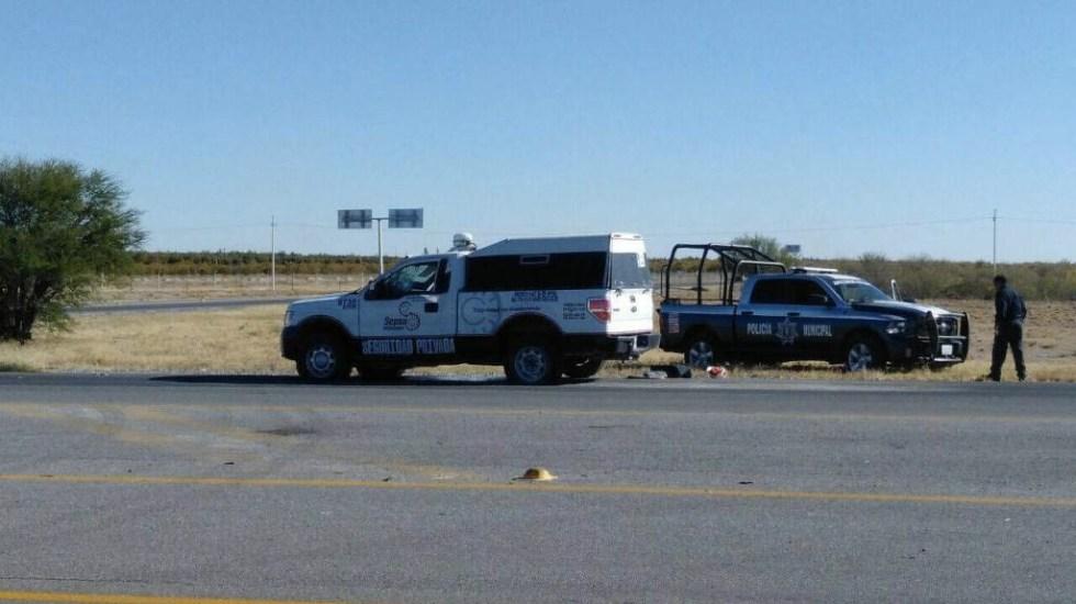 Buscan a responsables del robo de camioneta de valores en Guanajuato - Foto de @InsurgentePress