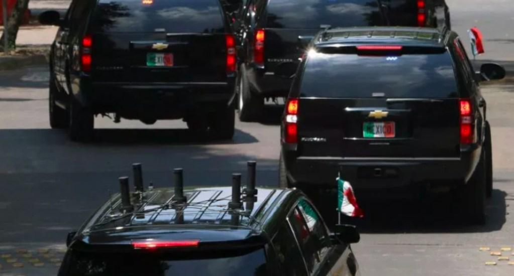 Vehículos del Estado Mayor se destinarán a seguridad pública: AMLO - camionetas estado mayor