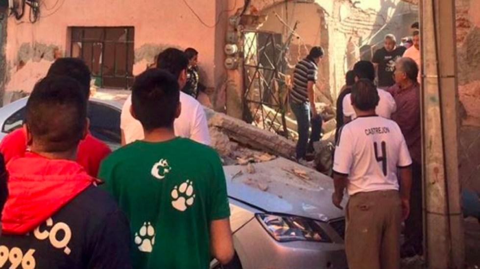 Explosión por gas deja un muerto en GAM - explosion de gas en gustavo a madero deja un muerto
