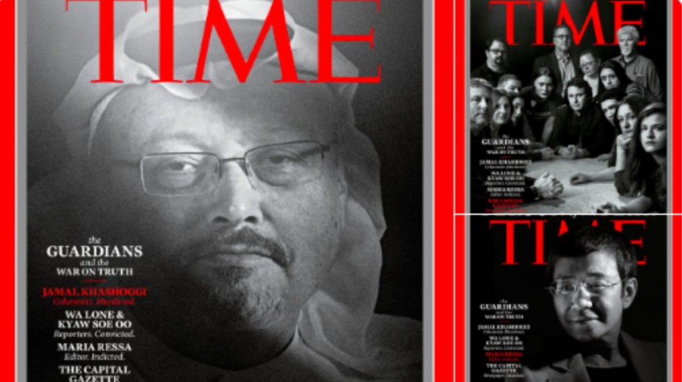 Time honra a Jamal Khashoggi como persona del año