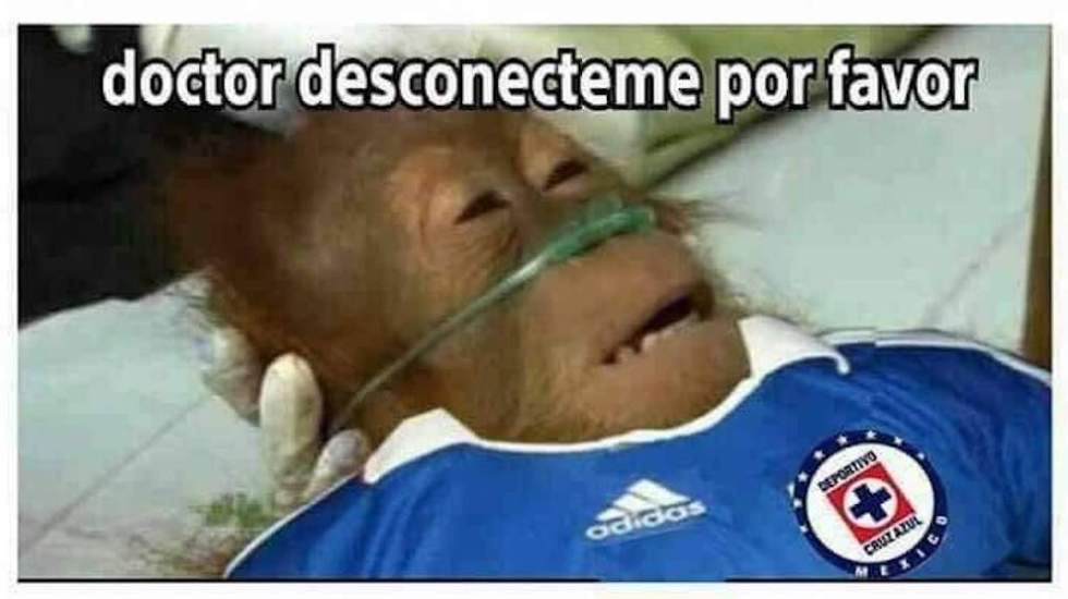 Los memes del Cruz Azul vs. América