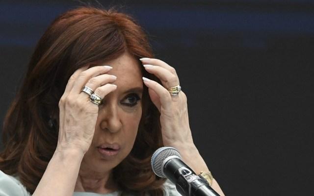 Dan prisión preventiva a la expresidenta Cristina Kirchner - Cristina Fernández. Foto de AFP