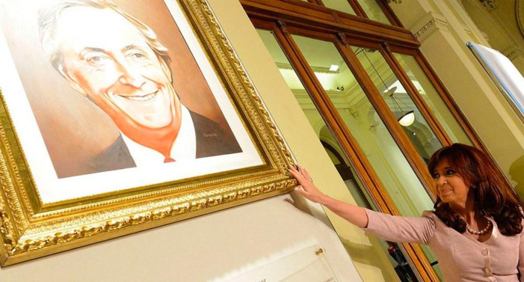 Decomisan obras de arte a ex presidenta Cristina Fernández - Foto de Posta