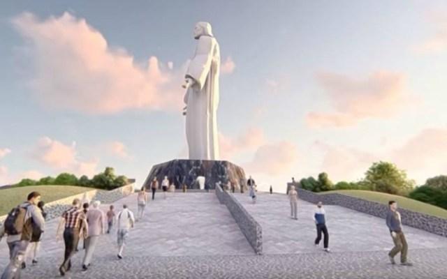 Construirían en Tamaulipas imagen del Cristo más grande del mundo - Foto de Foro TV