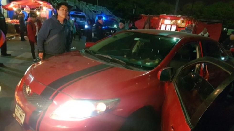 Detienen a hombre que condujo con un policía en el cofre de su auto - detienen a conductor por arrollar a policia en el cetram