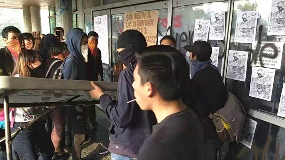 PGJ abre carpeta de investigación por disturbios en Rectoría de la UNAM - Foto de Quadratín