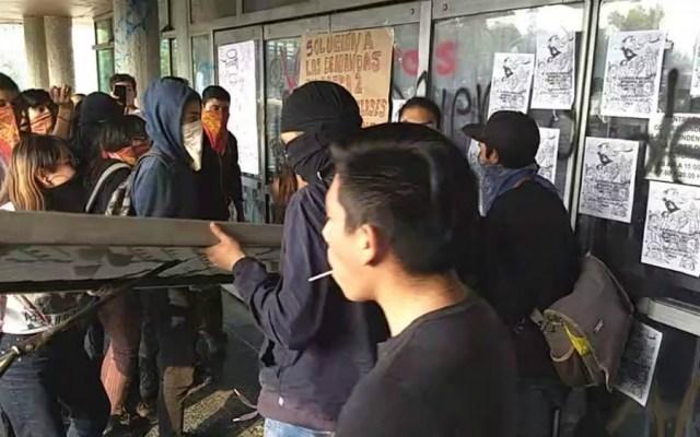 Detenidos tras disturbios en UNAM serán presentados ante Juez de Control - Foto de Quadratín