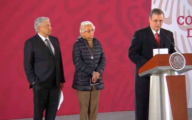 México no acepta ni aceptará ser un Tercer País Seguro para EE.UU.: Ebrard - Conferencia de prensa sobre postura migratoria de México. Captura de pantalla