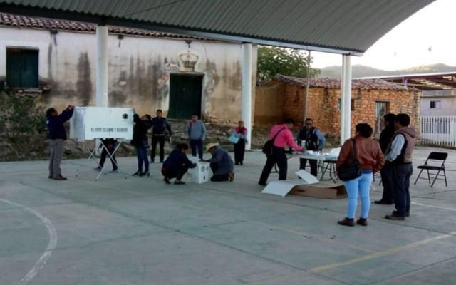 Realizan elecciones extraordinarias en Oaxaca - Foto de Quadratín