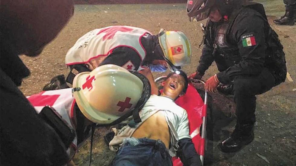 #Video Peatón dispara a joven que intentaba asaltarlo en Oaxaca - Foto de NVI Noticias
