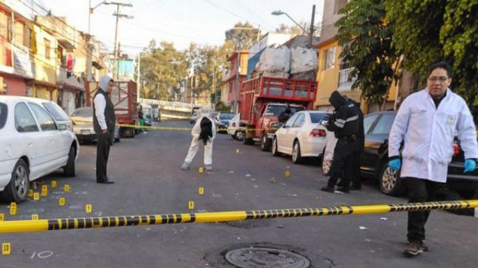 Suman 10 homicidios en las últimas 24 horas en la Ciudad de México - Escena del crimen en Coyoacán. Foto de Twitter