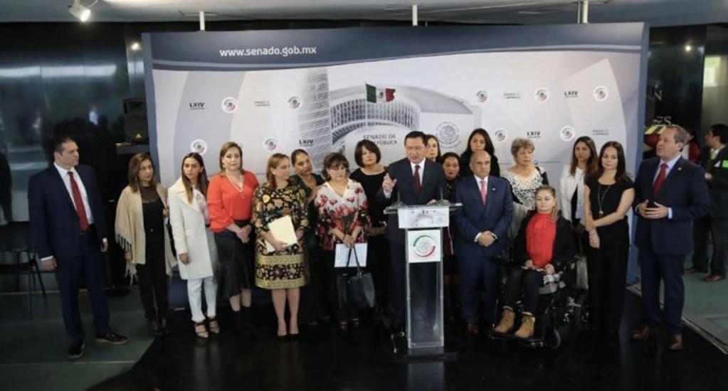 PRI presenta acción de inconstitucionalidad por ley que violenta división de poderes - Foto de Twitter PRI