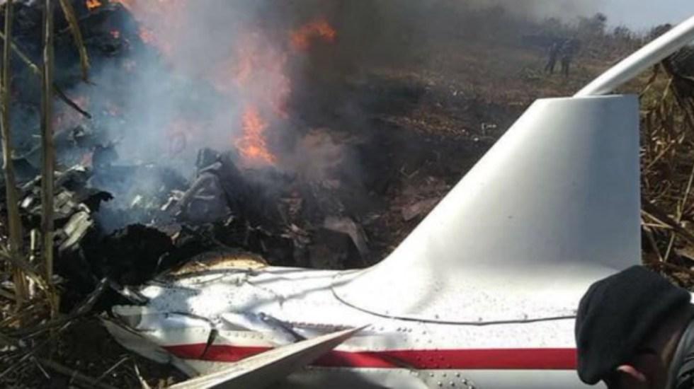 El helicóptero en que viajaban Martha Erika y Rafael Moreno Valle - Exige PAN expertos internacionales para investigar muerte de Martha Erika