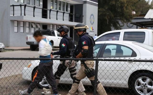 Aprehenden a implicado en homicidio de candidato en Michoacán - El implicado en el homicidio del candidato Omar Gómez Lucatero fue ingresado al reclusorio. Foto de Twitter