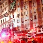 #Video Incendio en mansión de Nueva York - Foto de Reuters