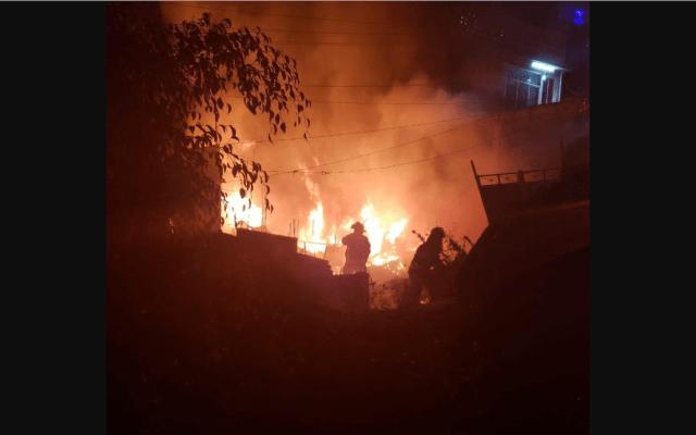 Velan a niños que murieron en incendio en Iztapalapa