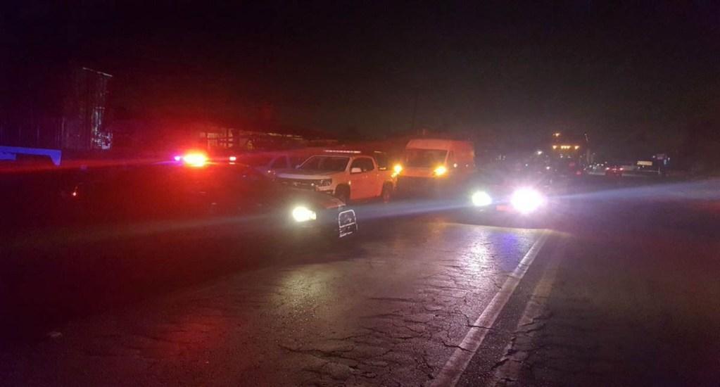 Se registran dos incidentes en la Cuernavaca-México - Incidente en la Cuernavaca-México. Foto de Twitter