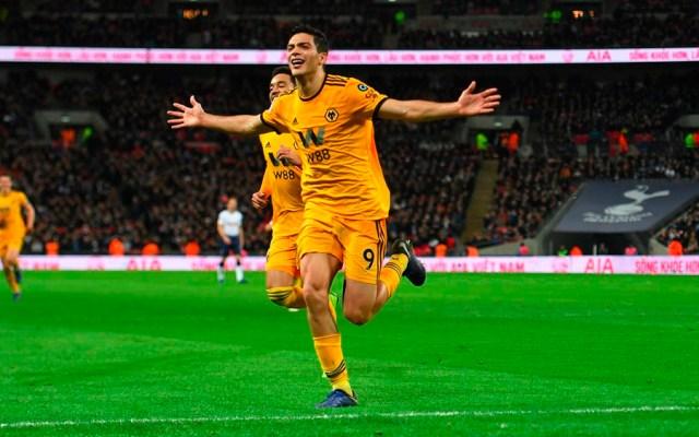 #Video Gol de Raúl Jiménez contra el Tottenham - Foto de @Wolves