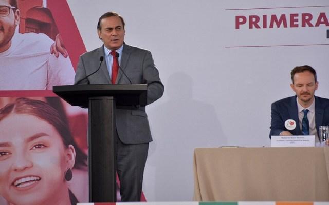 Desaparición de INEE es un error: Juan Pablo Castañón - Juan Pablo Castañón. Foto de @cceoficialmx