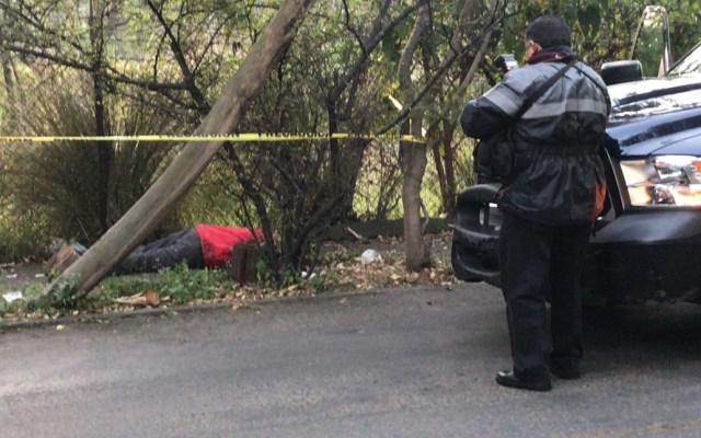 Asesinan a hombre en Lomas de Chapultepec - La víctima fue apuñalada en varias ocasiones, en Lomas de Chapultepec. Foto especial