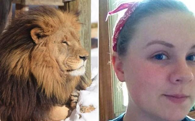 León mata a joven pasante de zoológico en Carolina del Norte - Foto de Alexandra Black