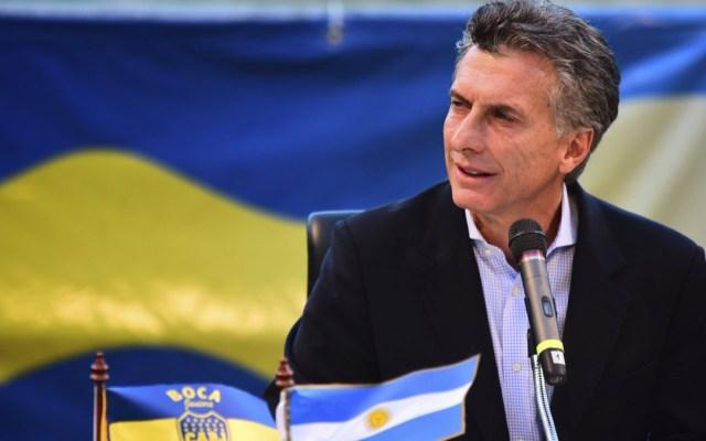 Mauricio Macri reconoce estar dolido por derrota de Boca Juniors - Macri felicitó a River y reconoció está golpeado por la derrota de boca