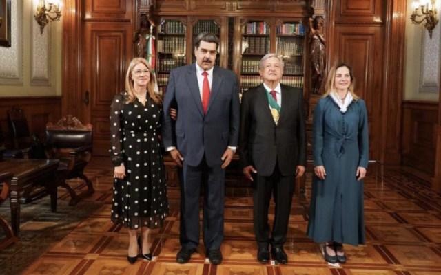 AMLO y Maduro se reunieron en Palacio Nacional - Foto de @NicolásMaduro