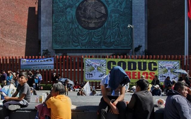 Diputados posponen sesión por manifestación campesina - Foto de Animal Político