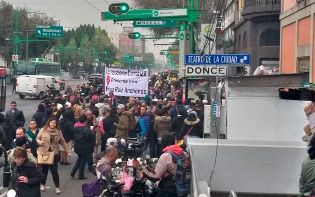 Prevén al menos cuatro movilizaciones en la Ciudad de México - Foto de Twitter