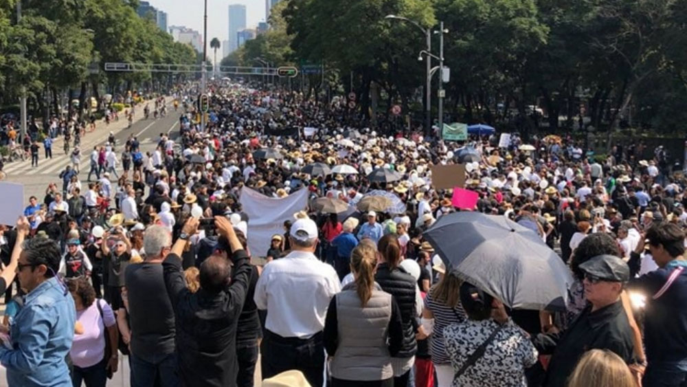 Al menos tres movilizaciones en la Ciudad de México. Noticias en tiempo real